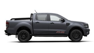 2019 Ford Ranger PX MkIII 2020.25MY FX4 Pick-up Double Cab Meteor Grey 6 Speed Sports Automatic