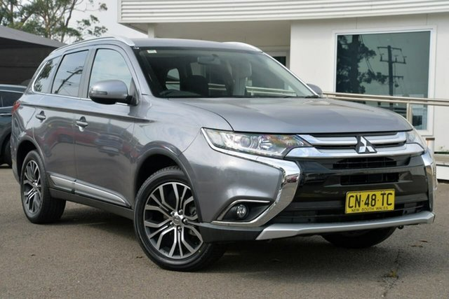 Used Mitsubishi Outlander ZK MY18 LS AWD, 2017 Mitsubishi Outlander ZK MY18 LS AWD Grey 6 Speed Constant Variable Wagon