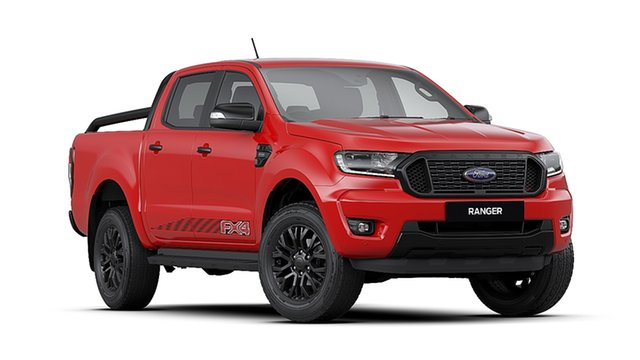 New Ford Ranger PX MkIII 2020.25MY FX4 Pick-up Double Cab, 2020 Ford Ranger PX MkIII 2020.25MY FX4 Pick-up Double Cab Red 6 Speed Sports Automatic Utility