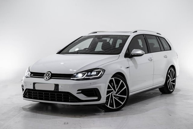 Used Volkswagen Golf 7.5 MY19.5 R DSG 4MOTION, 2019 Volkswagen Golf 7.5 MY19.5 R DSG 4MOTION White 7 Speed Sports Automatic Dual Clutch Wagon