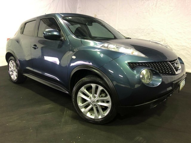 Used Nissan Juke F15 MY14 ST 2WD, 2013 Nissan Juke F15 MY14 ST 2WD Tempest Blue 5 Speed Manual Hatchback