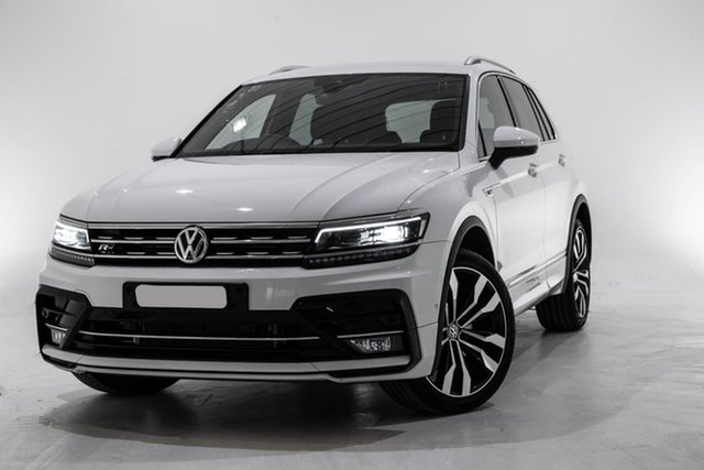 Used Volkswagen Tiguan 5N MY19.5 162TSI DSG 4MOTION Highline, 2019 Volkswagen Tiguan 5N MY19.5 162TSI DSG 4MOTION Highline White 7 Speed