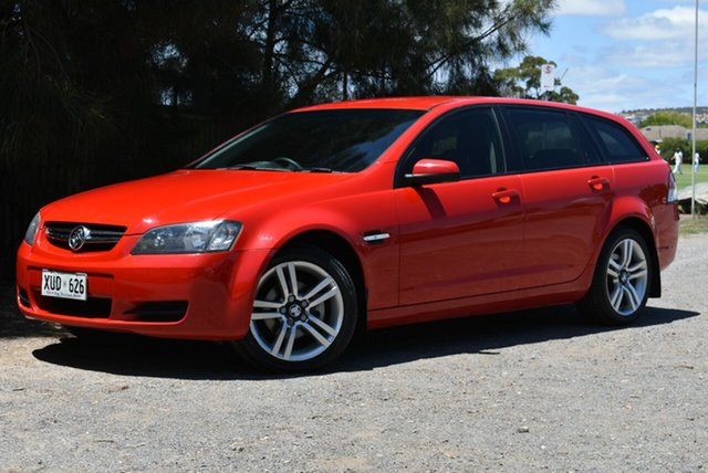 Used Holden Commodore VE MY09 60th Anniversary Sportwagon, 2008 Holden Commodore VE MY09 60th Anniversary Sportwagon Red 4 Speed Automatic Wagon