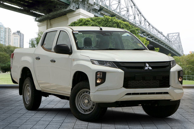 Used Mitsubishi Triton MR MY19 GLX+ Double Cab, 2019 Mitsubishi Triton MR MY19 GLX+ Double Cab White 6 Speed Sports Automatic Utility
