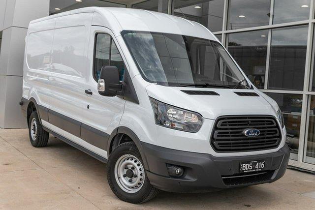 Demo Ford Transit VO 2018.75MY 350L Mid Roof LWB, 2019 Ford Transit VO 2018.75MY 350L Mid Roof LWB White 6 Speed Manual Van