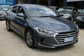 2017 Hyundai Elantra AD Active 2.0 MPI Grey 6 Speed Automatic Sedan.