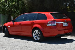 2008 Holden Commodore VE MY09 60th Anniversary Sportwagon Red 4 Speed Automatic Wagon