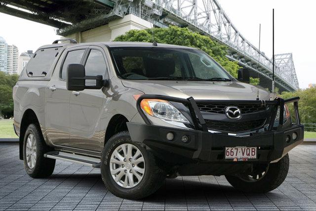 Used Mazda BT-50 UP0YF1 XTR, 2015 Mazda BT-50 UP0YF1 XTR Tan/brown 6 Speed Sports Automatic Utility