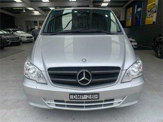 2011 Mercedes-Benz Vito 639 113CDI Silver Automatic Van.