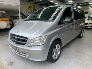 2011 Mercedes-Benz Vito 639 113CDI Silver Automatic Van