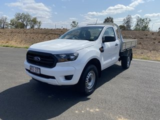 2019 Ford Ranger PX MkIII 2019.00MY XL Arctic White 6 Speed Sports Automatic Cab Chassis