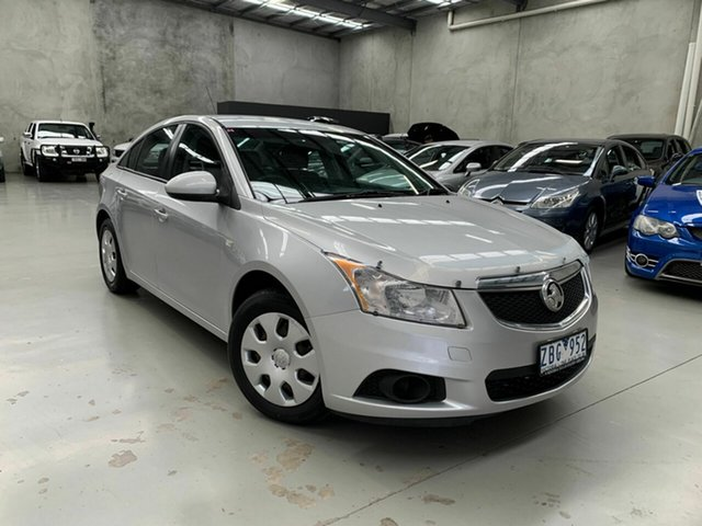 Used Holden Cruze JH Series II MY12 CD, 2012 Holden Cruze JH Series II MY12 CD Silver 6 Speed Sports Automatic Sedan