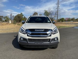 2019 Isuzu MU-X MY19 LS-T Rev-Tronic Silky White 6 Speed Sports Automatic Wagon.