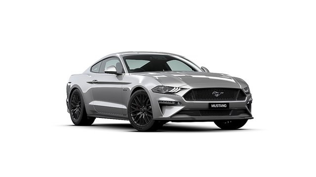New Ford Mustang FN MY20 GT 5.0 V8, 2020 Ford Mustang FN MY20 GT 5.0 V8 Iconic Silver 10 Speed Automatic Fastback
