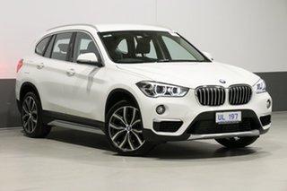 2018 BMW X1 F48 MY19 xDrive 25I White 8 Speed Automatic Wagon.