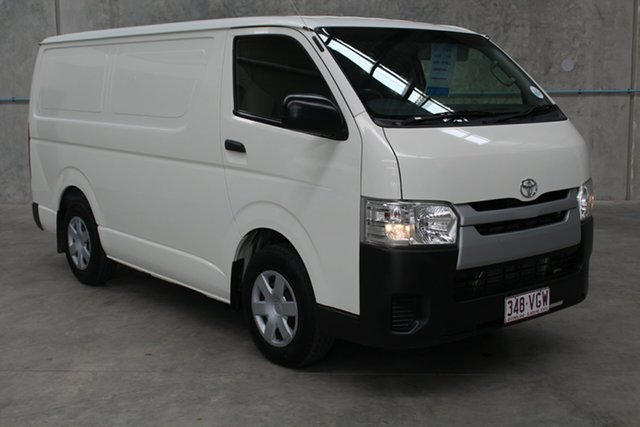 Used Toyota HiAce TRH201R MY14 LWB, 2014 Toyota HiAce TRH201R MY14 LWB White 5 speed Manual Van