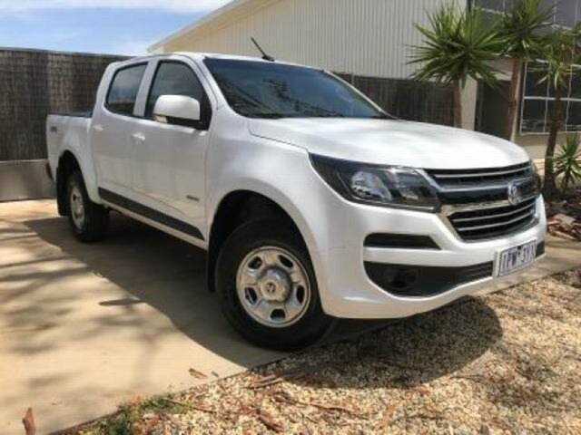 Used Holden Colorado RG MY19 LS (4x4) (5Yr), 2019 Holden Colorado RG MY19 LS (4x4) (5Yr) White 6 Speed Automatic Crew Cab Pickup