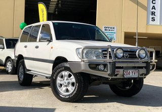 2005 Toyota Landcruiser HDJ100R GXL (4x4) White 5 Speed Automatic Wagon