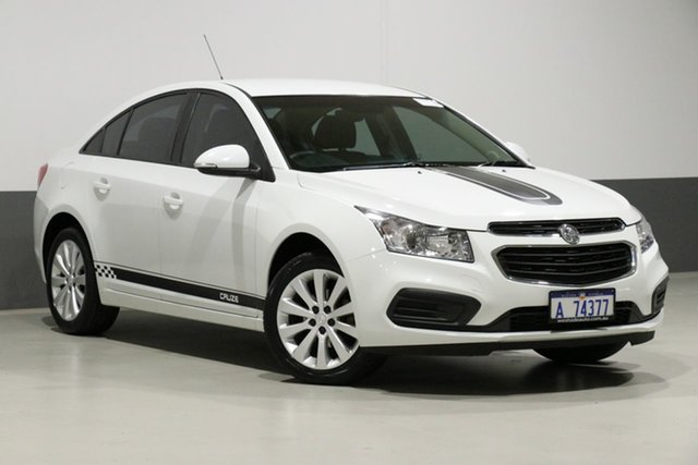 Used Holden Cruze JH MY16 Equipe, 2016 Holden Cruze JH MY16 Equipe White 6 Speed Automatic Sedan