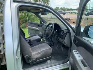 2008 Ford Ranger PJ XL Silver 5 Speed Manual Cab Chassis