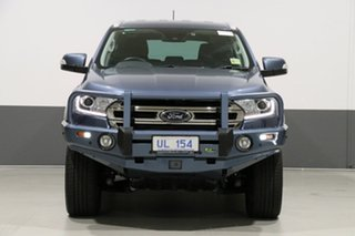2019 Ford Everest UA II MY19 Trend (4WD 7 Seat) Blue 10 Speed Auto Seq Sportshift Wagon.