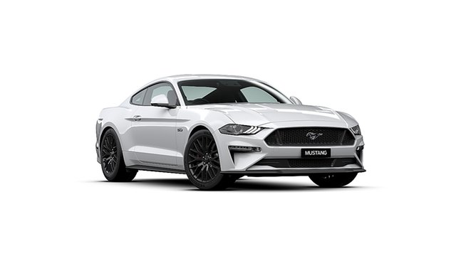 New Ford Mustang FN 2020MY GT Fastback SelectShift RWD, 2019 Ford Mustang FN 2020MY GT Fastback SelectShift RWD Oxford White 10 Speed Sports Automatic