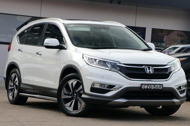 Used Honda CR-V RM Series II MY16 VTi-L, 2015 Honda CR-V RM Series II MY16 VTi-L White 5 Speed Sports Automatic Wagon