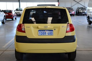 2009 Hyundai Getz TB MY09 S Sheer Yellow 5 Speed Manual Hatchback