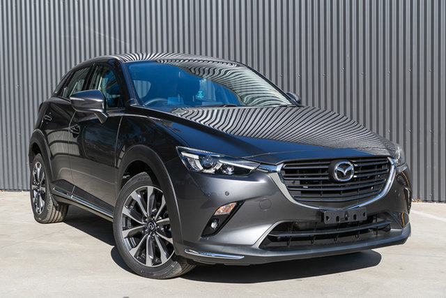 New Mazda CX-3 DK2W7A sTouring SKYACTIV-Drive FWD, 2019 Mazda CX-3 DK2W7A sTouring SKYACTIV-Drive FWD Machine Grey 6 Speed Sports Automatic Wagon