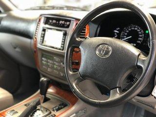 2005 Toyota Landcruiser UZJ100R Sahara (4x4) White 5 Speed Automatic Wagon.