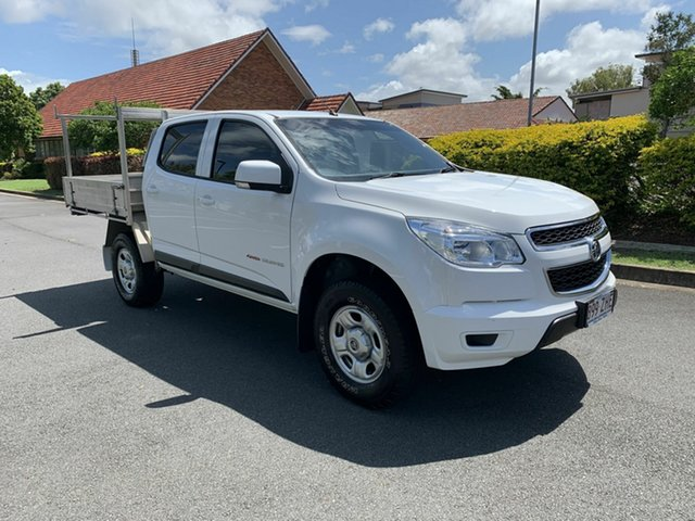 Used Holden Colorado RG LS, 2015 Holden Colorado RG LS White 6 Speed Manual Dual Cab