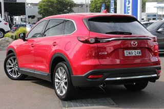 2017 Mazda CX-9 TC GT SKYACTIV-Drive Metallic Red 6 Speed Sports Automatic Wagon.