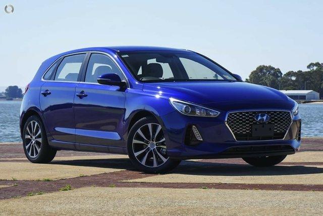 New Hyundai i30 PD2 MY20 Elite, 2019 Hyundai i30 PD2 MY20 Elite Intense Blue 6 Speed Sports Automatic Hatchback
