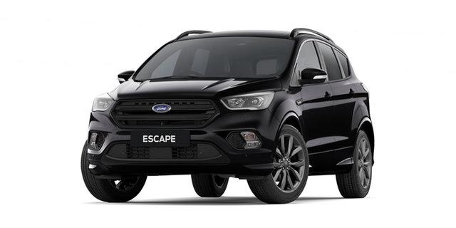 New Ford Escape ZG 2019.75MY ST-Line AWD, 2019 Ford Escape ZG 2019.75MY ST-Line AWD Shadow Black 6 Speed Sports Automatic Wagon