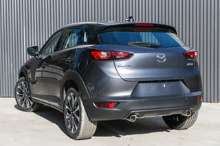 2019 Mazda CX-3 DK2W7A sTouring SKYACTIV-Drive FWD Machine Grey 6 Speed Sports Automatic Wagon