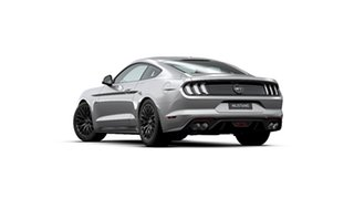 2020 Ford Mustang FN MY20 GT 5.0 V8 Iconic Silver 10 Speed Automatic Fastback.
