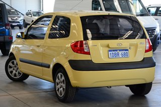 2009 Hyundai Getz TB MY09 S Sheer Yellow 5 Speed Manual Hatchback.