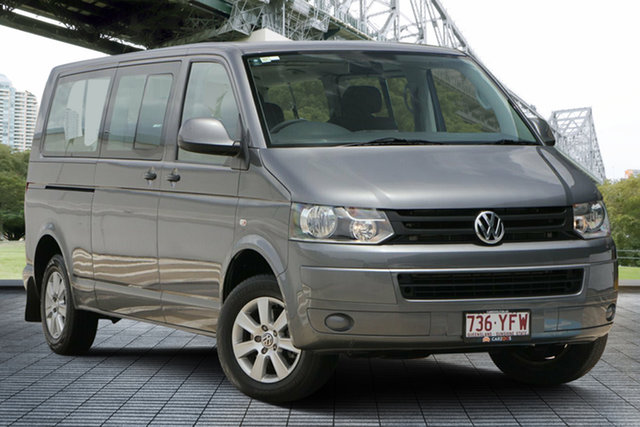 Used Volkswagen Caravelle T5 MY13 TDI340 LWB DSG, 2013 Volkswagen Caravelle T5 MY13 TDI340 LWB DSG Grey 7 Speed Sports Automatic Dual Clutch Wagon