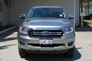 2019 Ford Ranger PX MkIII 2019.75MY XLT Pick-up Double Cab Silver 6 Speed Sports Automatic Utility.