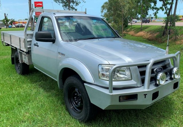 Used Ford Ranger PJ XL, 2008 Ford Ranger PJ XL Silver 5 Speed Manual Cab Chassis