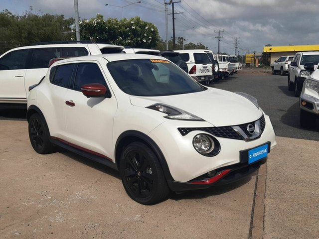 Used Nissan Juke F15 Series 2 Ti-S X-tronic AWD, 2016 Nissan Juke F15 Series 2 Ti-S X-tronic AWD White 1 Speed Constant Variable Hatchback