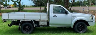 2008 Ford Ranger PJ XL Silver 5 Speed Manual Cab Chassis.