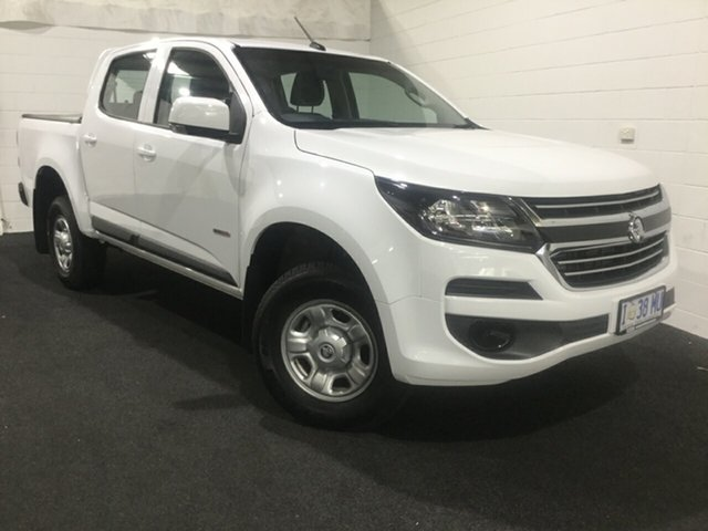 Used Holden Colorado RG MY19 LS Pickup Crew Cab 4x2, 2019 Holden Colorado RG MY19 LS Pickup Crew Cab 4x2 White 6 Speed Sports Automatic Utility