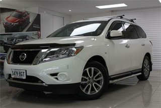 2013 Nissan Pathfinder R52 ST White 1 Speed Constant Variable Wagon.