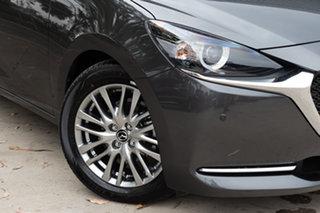 2019 Mazda 2 DJ2HAA G15 SKYACTIV-Drive GT Machine Grey 6 Speed Sports Automatic Hatchback.