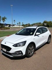 2019 Ford Focus SA 2019.25MY Active Frozen White 8 Speed Automatic Hatchback