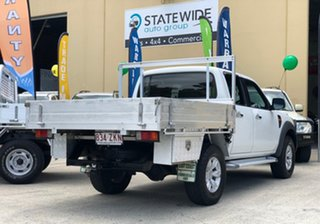 2011 Ford Ranger PK XL (4x4) White 5 Speed Automatic Dual Cab Pick-up.