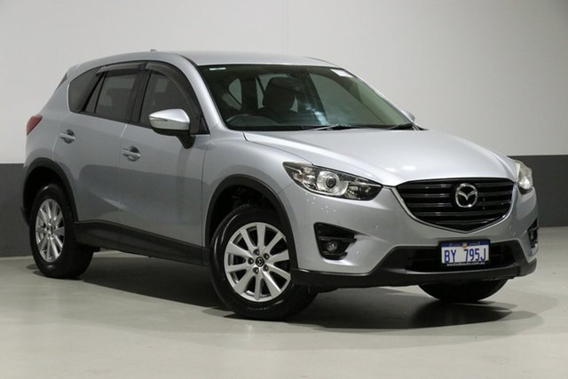Used Mazda CX-5 MY15 Maxx Sport Safety (4x4), 2015 Mazda CX-5 MY15 Maxx Sport Safety (4x4) Silver 6 Speed Automatic Wagon