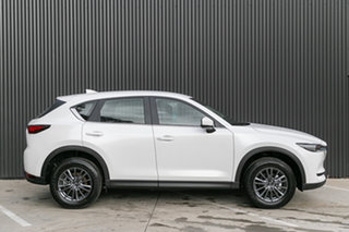 2019 Mazda CX-5 KF2W7A Maxx SKYACTIV-Drive FWD Sport Snowflake White Pearl 6 Speed Sports Automatic.