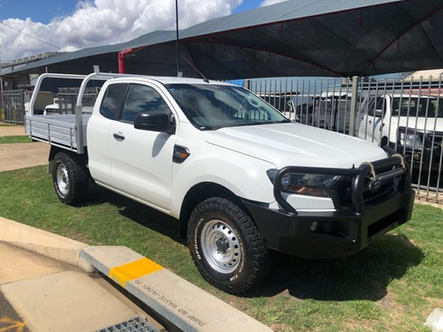 Used Ford Ranger PX MkII XL 3.2 (4x4), 2016 Ford Ranger PX MkII XL 3.2 (4x4) White 6 Speed Manual Super Cab Utility
